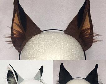 Headband clipart dog ear Colors Etsy headband choose Wolf