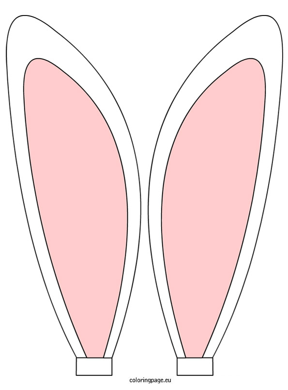 Headband clipart easter bunny ear Easter headband clipart  ear