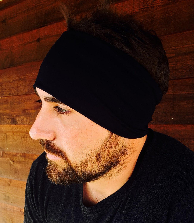 Headband clipart exercise man ~Yoga Mens Etsy Bandana ~