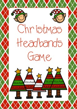 Headband clipart red Christmas Freebie TpT Annette Fraser