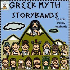 Headband clipart greek Greek Headbands art clip Mythology