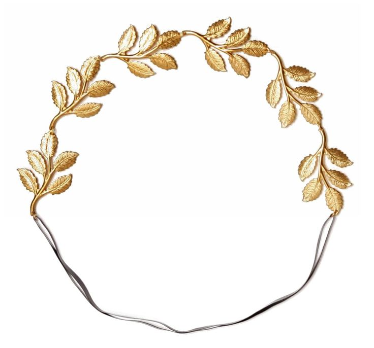 Headband clipart greek Best Greek Hairstyles Headband Plated