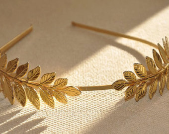Headband clipart greek Grecian Athena Leaves Greek Wreath