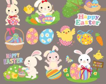 Headband clipart happy easter Bunny Clipart Happy Clip Easter