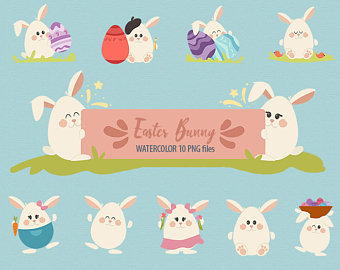 Headband clipart red Easter Easter clipart Etsy Happy