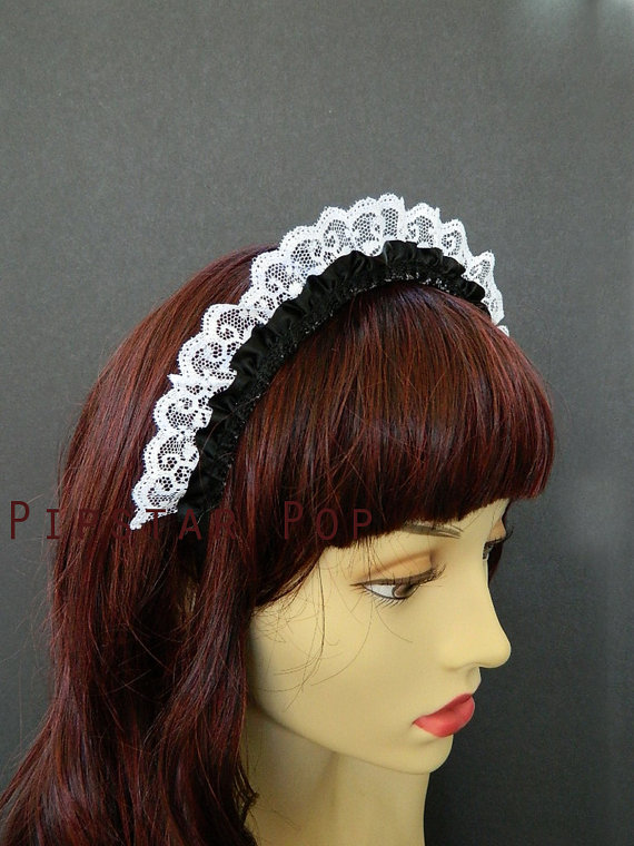 Headband clipart maid Like Inspired this White by