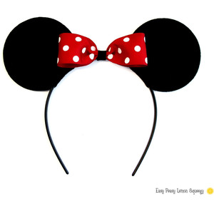 Headband clipart mickey mouse Headbands Deluxe and Polyvore LISTING