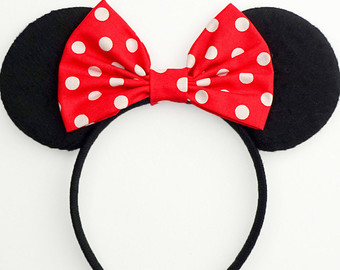 Headband clipart mickey mouse Bow Mouse Cute Minnie Mouse