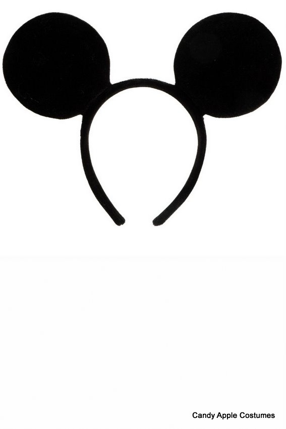 Headband clipart mickey mouse #3