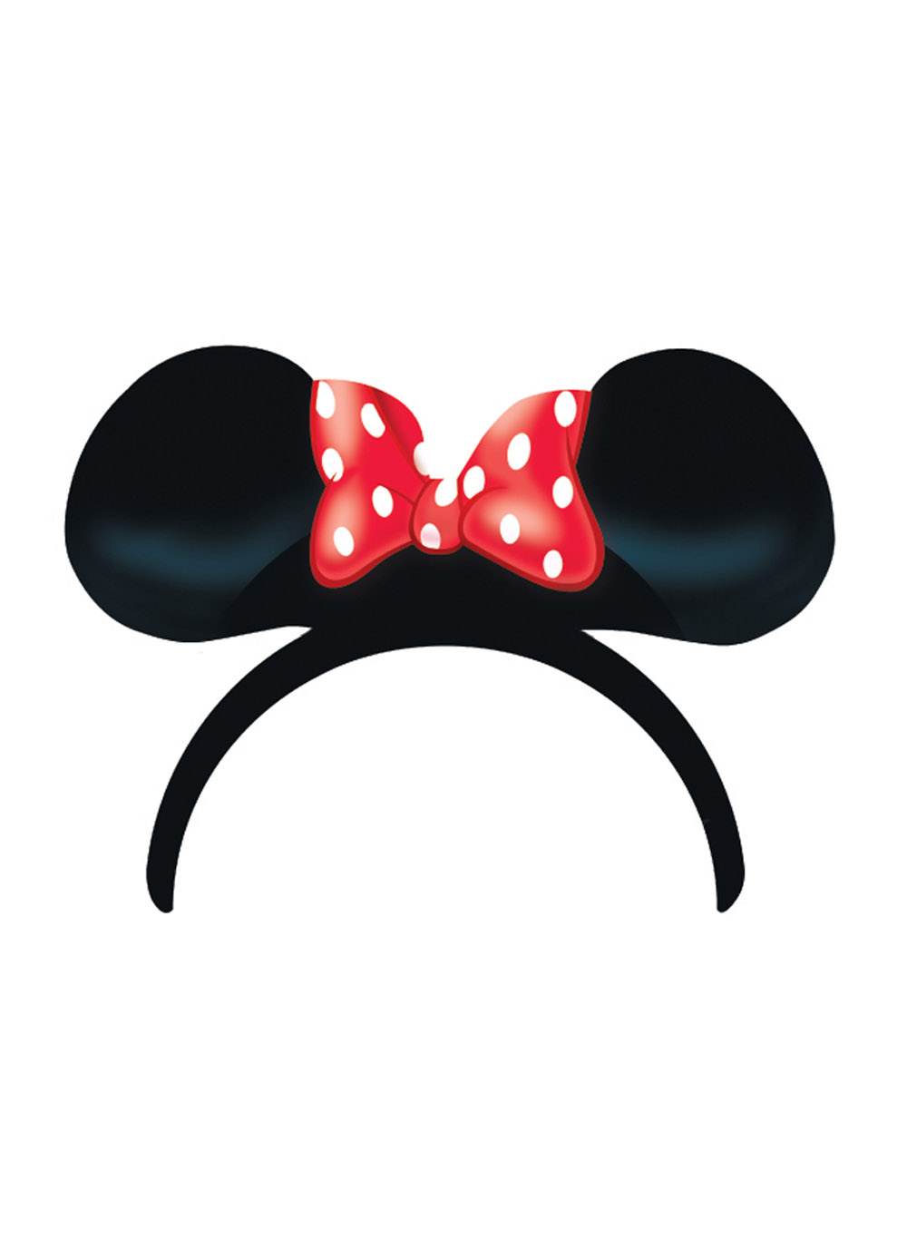 Headband clipart minnie mouse Ears Party Britain Dress 4pk