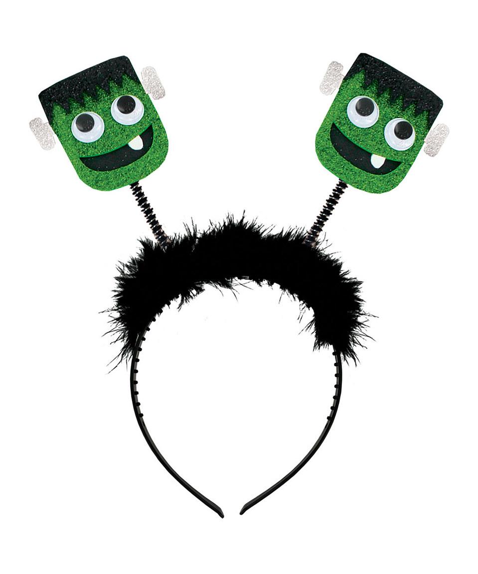 Headband clipart monster Halloween Monster Black Bobble Green