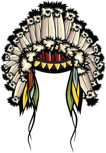 Indian clipart feather headband Pic American Feather Native Headband