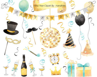 New Year clipart headband Year PNG year Clipart Happy