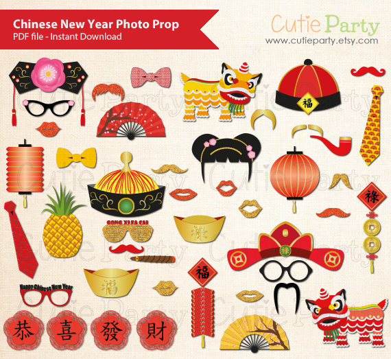 Headband clipart new year Year New Booth Photo Prop