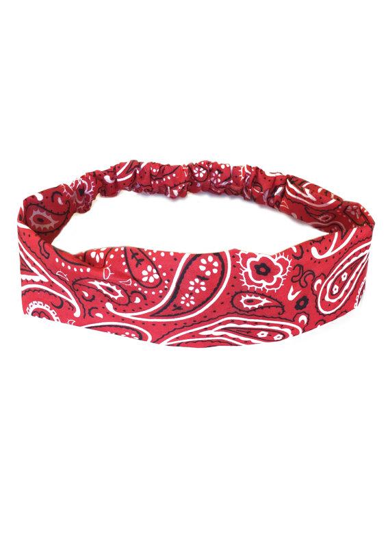 Headband clipart paisley Hairband Headband Elastic Headband Womens