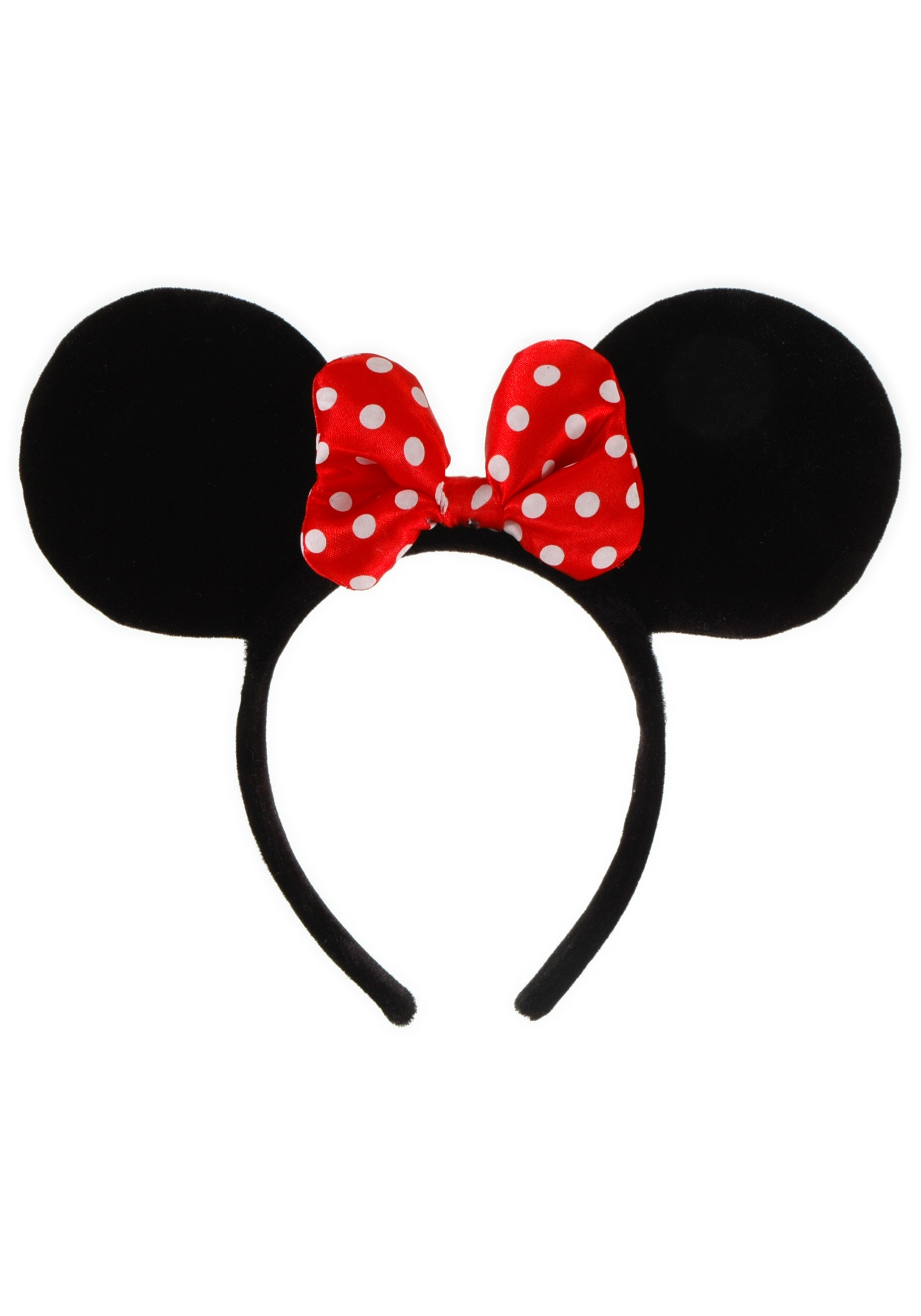 Headband clipart red Minnie headband Art Free Clip