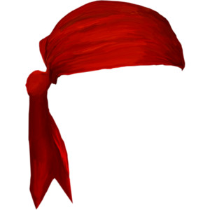 Headband clipart red Headband black Here Clipart Black