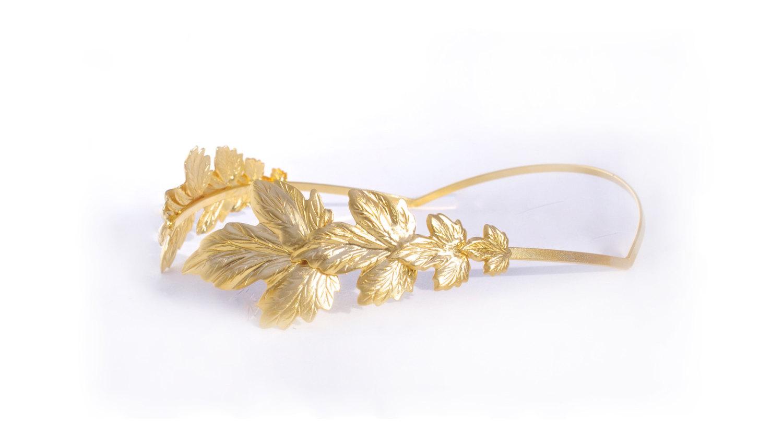 Headband clipart roman Headband Tiara Emperor Leaves Etsy