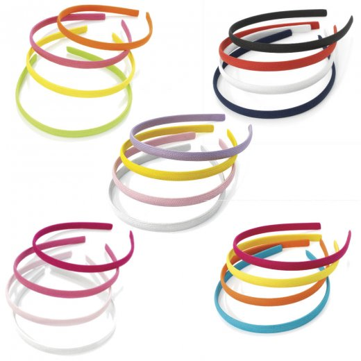 Headband clipart thin Pack 10mm Thin Hair Headband