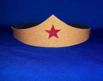 Headband clipart wonder woman Wonder Costume Set Tiara headband