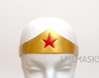 Headband clipart wonder woman Tiara Costume Red crown Star