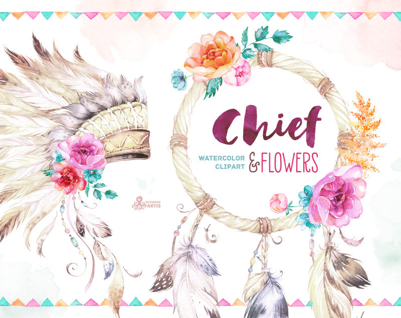 Headdress clipart african chief This Chief Arrow Dreamcatcher and