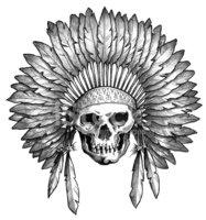 Headdress clipart amerindian #4