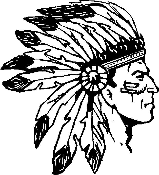 Headdress clipart amerindian #10