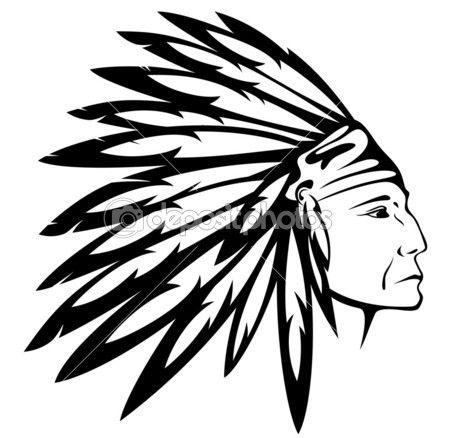 Headdress clipart amerindian #7