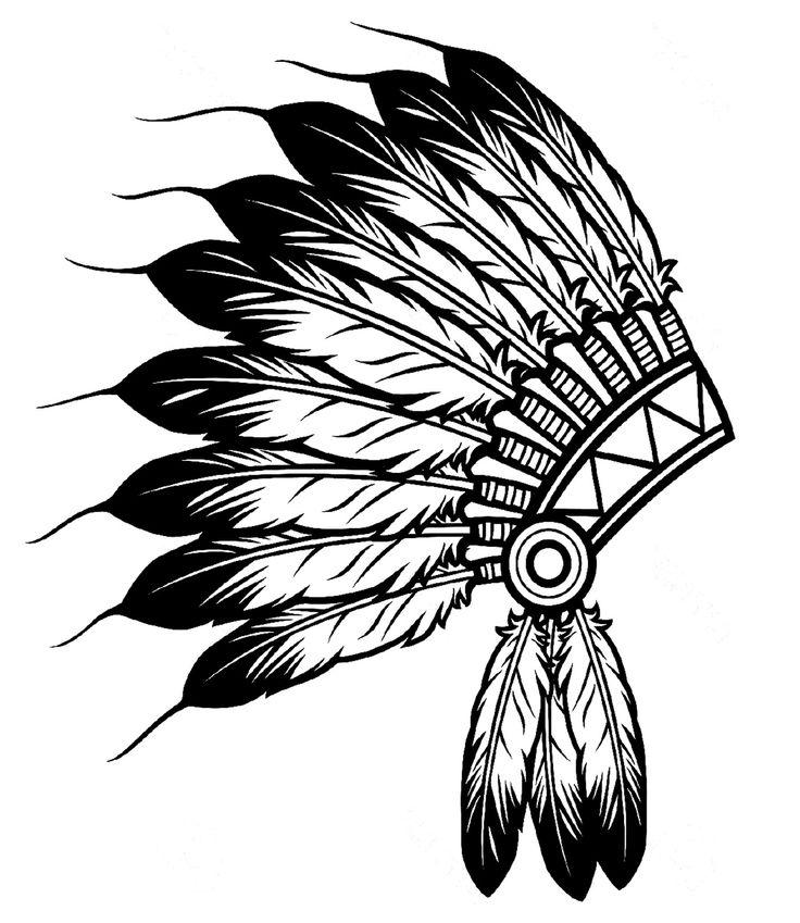 Headdress clipart amerindian #2