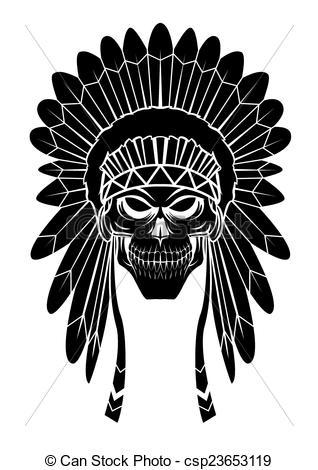 Headdress clipart apache Clip Vector Apache Art Clipart