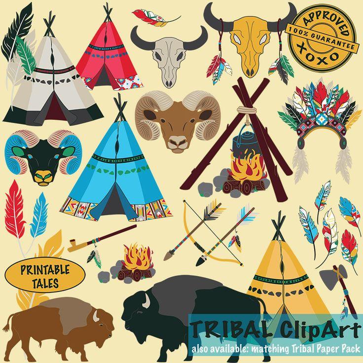 Headdress clipart aztec Boy Campfire Peace Teepee Indian