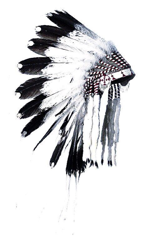 Headdress clipart cherokee indian Headdress tattoo Pinterest 25+ ideas