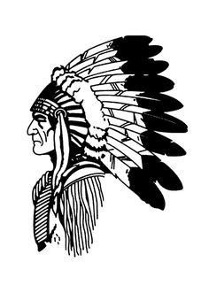 Headdress clipart cherokee indian On Diseños indian of headdress