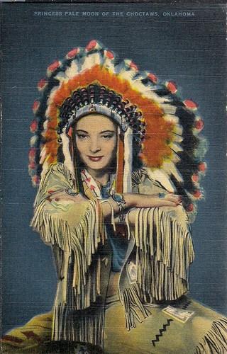 Headdress clipart choctaw chief Linen Indian Color Vintage Pinterest