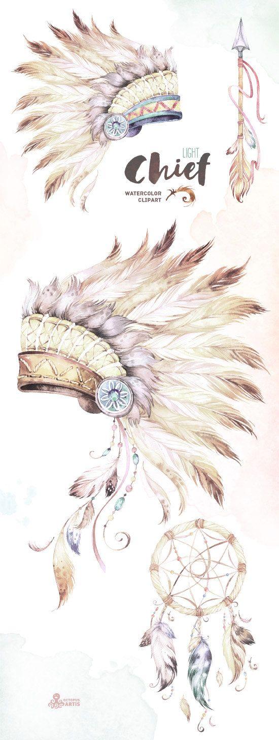 Headdress clipart choctaw chief Ideas art Native on tattoo