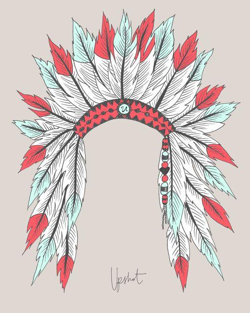 Headdress clipart choctaw chief Pinterest print on Indian Best