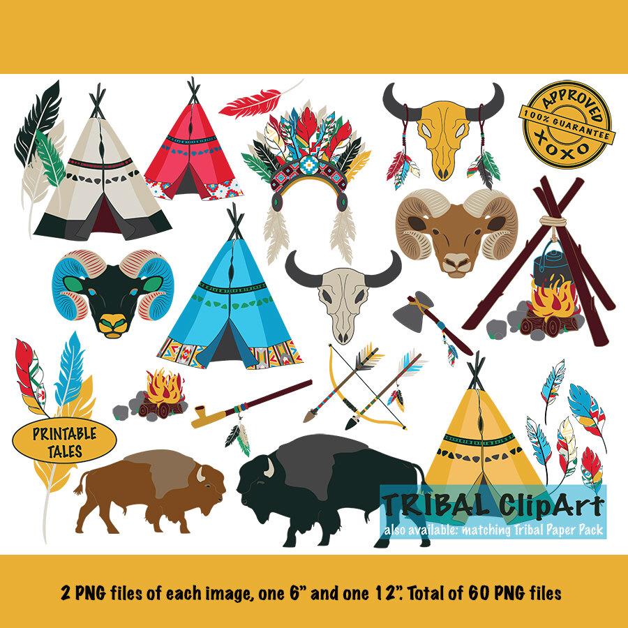 Headdress clipart cowboy indian Arrow Axe Clipart Ram Buffalo