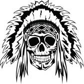 Headdress clipart cowboy indian Free · Indians Clip indian