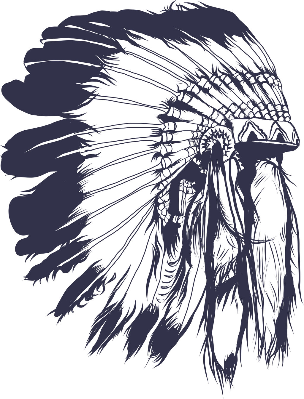 Headdress clipart drawing Headdress Cocar (1024×1347) headdress