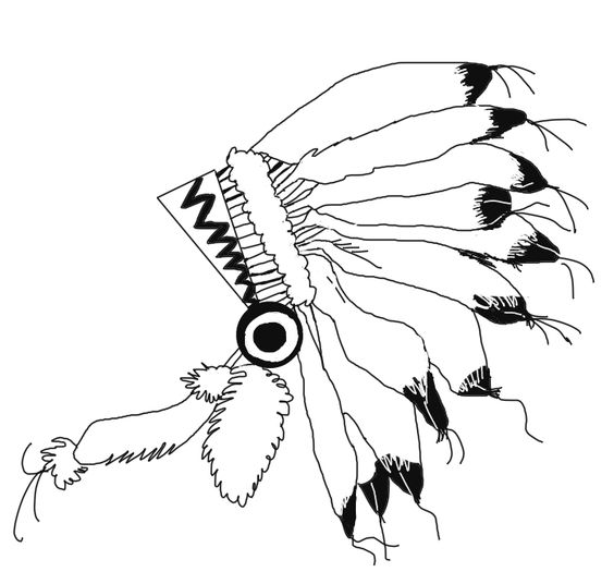 Headdress clipart drawing Cliparts for Personal Zone Clipart