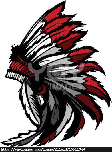 Headdress clipart first nations Mascot clip images Native Pinterest