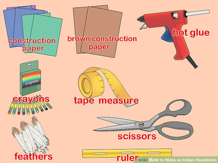 Headdress clipart first nations To wikiHow Step Make Indian