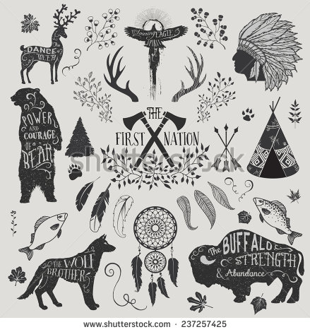 Headdress clipart first nations Including catcher art and and