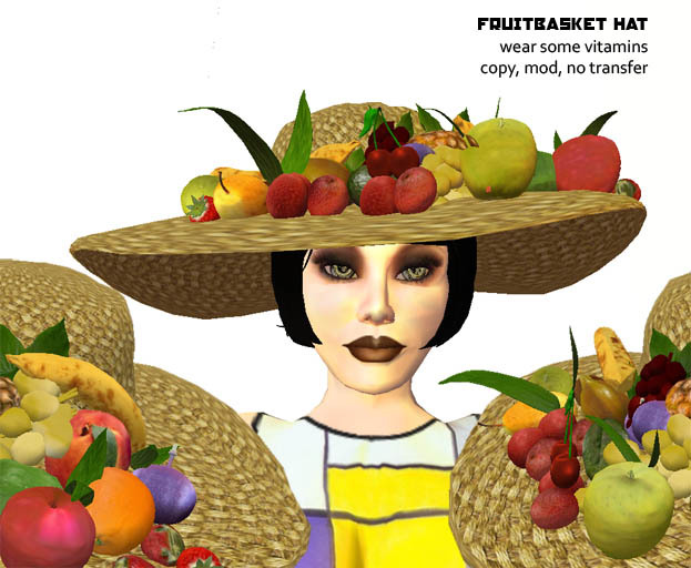 Headdress clipart fruit Marketplace Fruitbasket hat Bros Grim