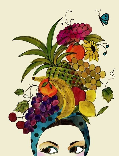 Headdress clipart fruit Hat on Cats 11 Fruit