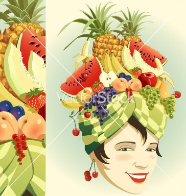 Headdress clipart fruit And Fruit Fruit Hats Pinterest