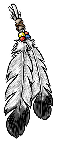 Indian clipart eagle Feather Collection clipart Indian Native