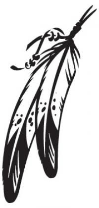 Headdress clipart indian feather Pinterest Feather feather on American