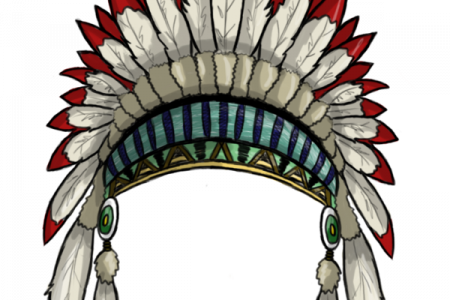 Headdress clipart indian feather DA Feather Clip UK )